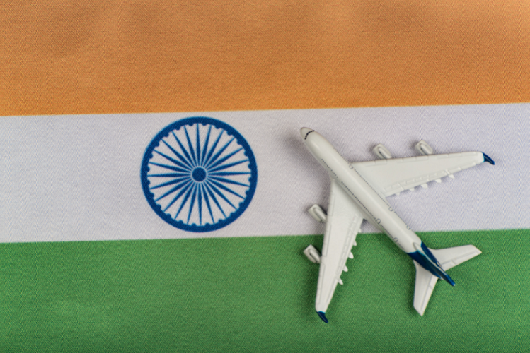 Canada receives direct passenger flights from India